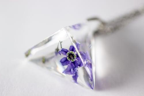 Image of Woody Nightshade (Solanum dulcamara) - Prism Necklace #7