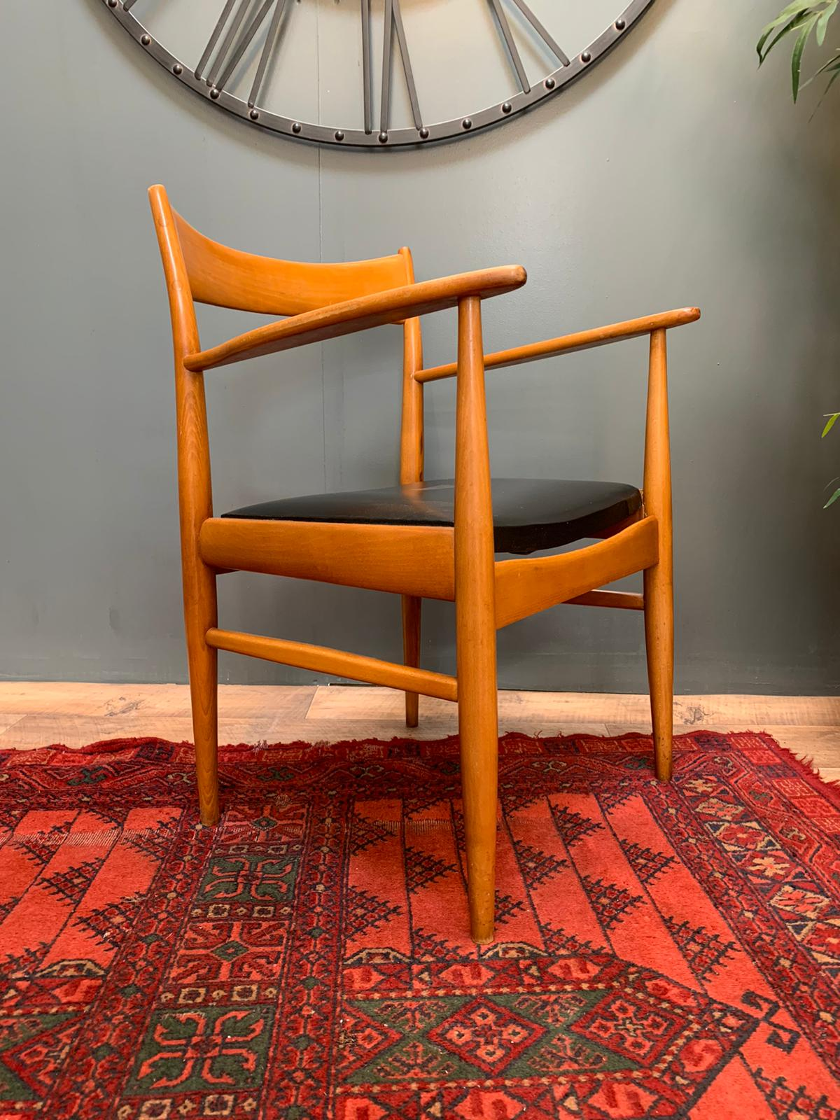 Image of Danish carver chair