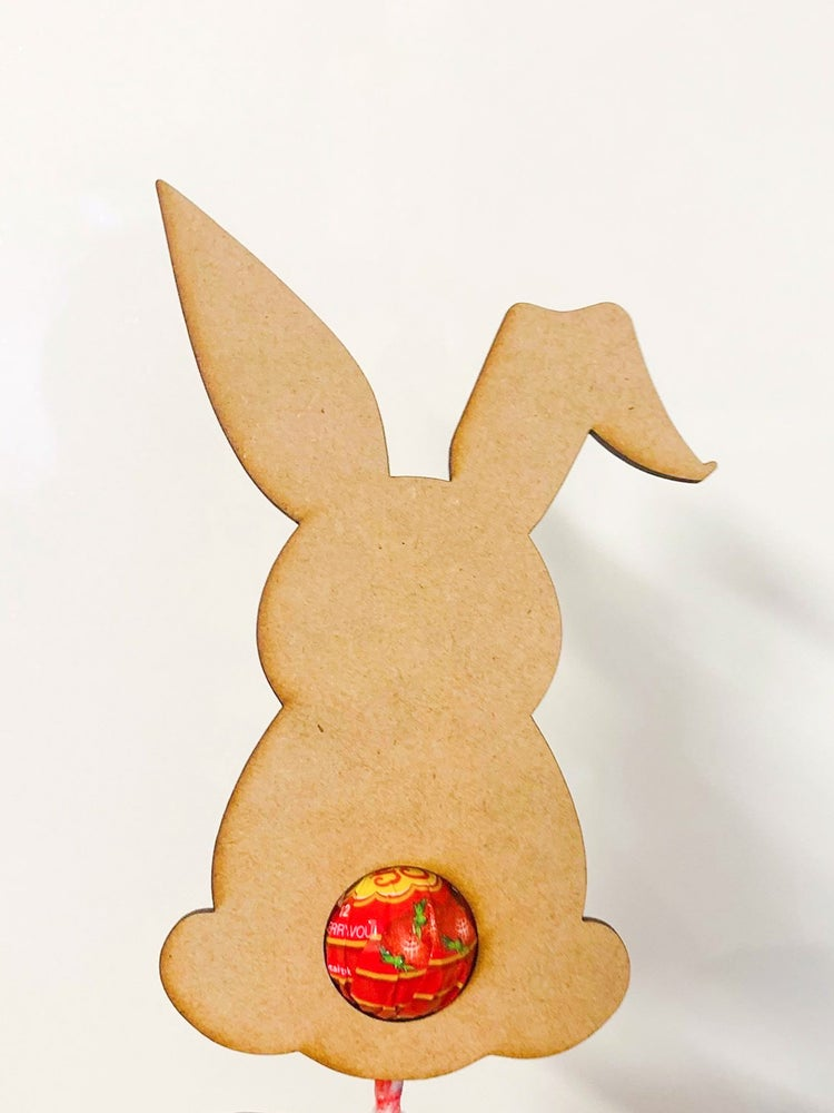 Image of Bunny lollipop holder