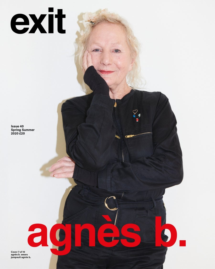 Image of EXIT ISSUE 40 SPRING SUMMER 2020 AGNES B (Shipping April 2020) ***HARD BACK COVER***
