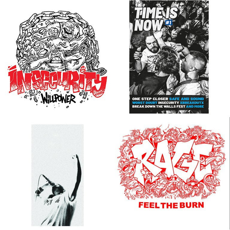 "Image of Insecurity 7"" + Distro 7"" / Zine"