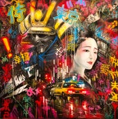 Image of 'Tokyo Dreams' - Original painting on canvas