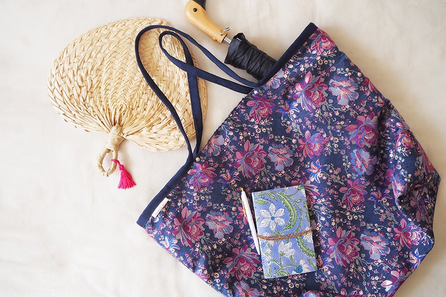 Image of BOLSO XL Flor Jacquard
