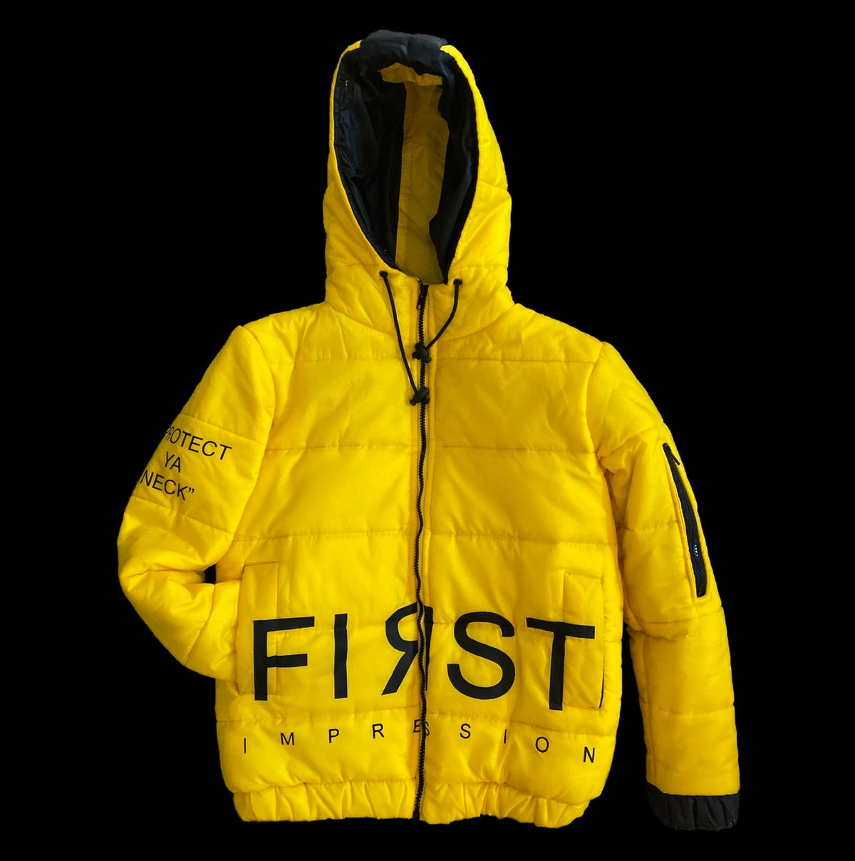 Image of CAUTION PUFFER COAT