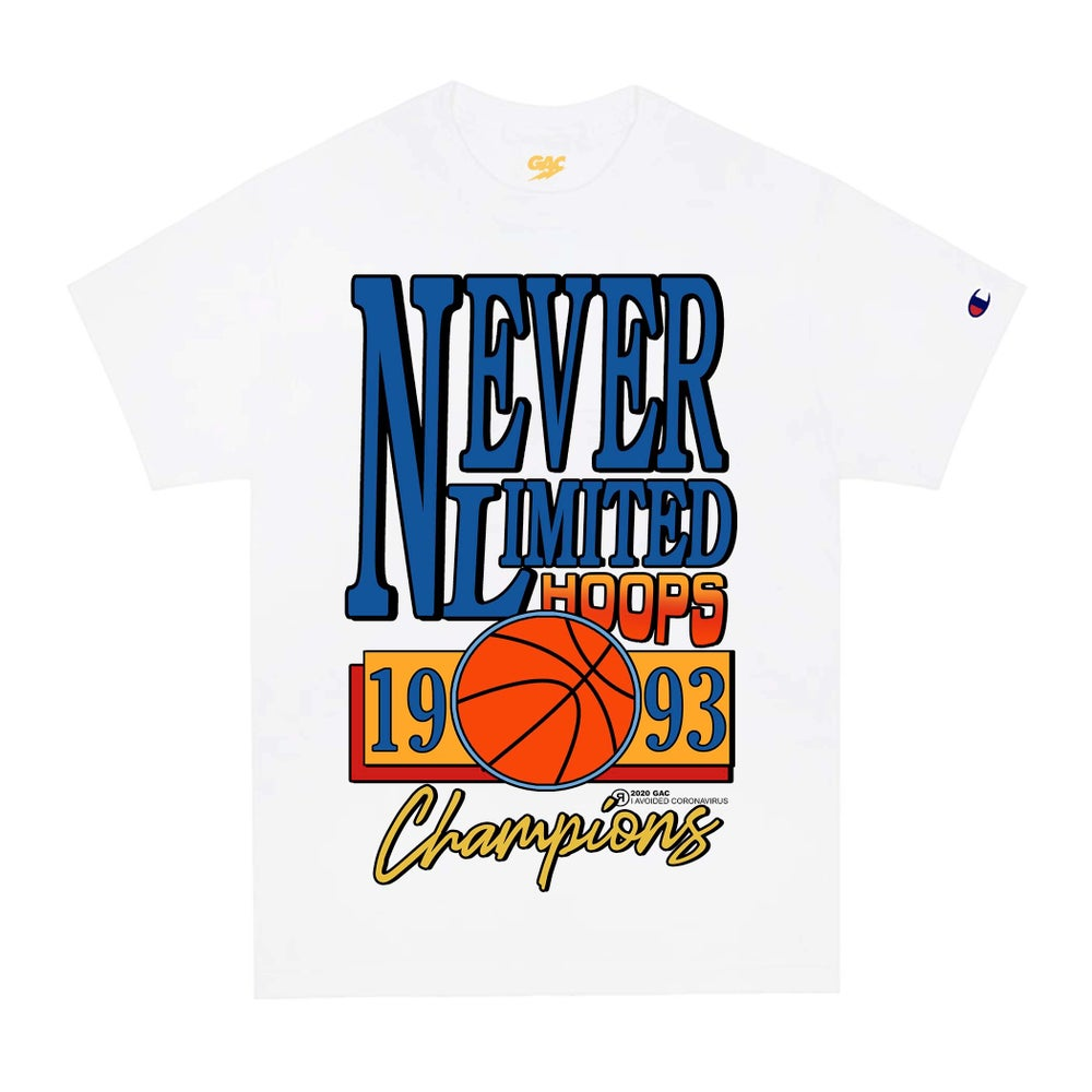 Image of 1993 Never Limited Hoops Tee