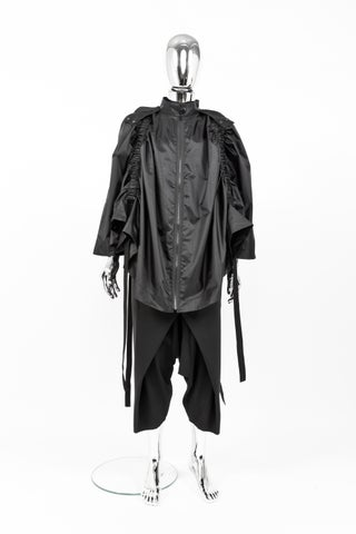 WATERPROOF GATHERED CLOAK