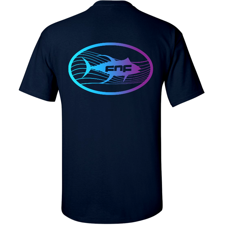 Image of Tuna Emblem Tee (navy)