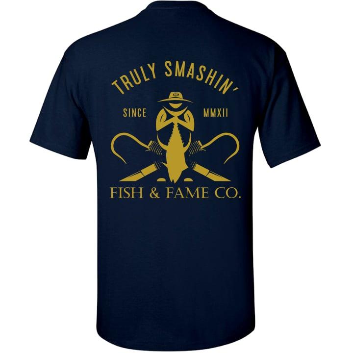 Image of Truly Smashin' II Tee (navy)