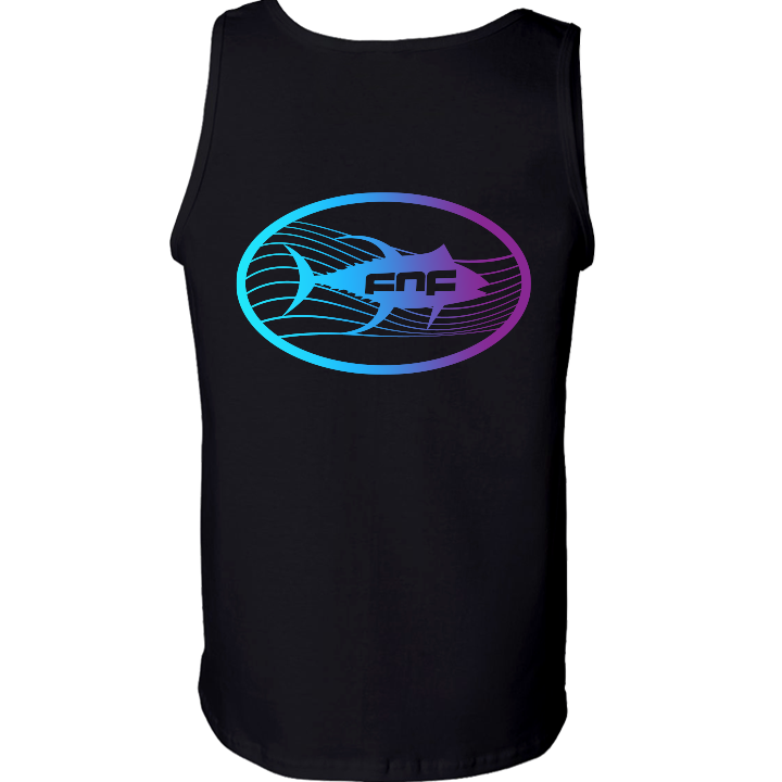 Image of Tuna Emblem Tank Top (black)