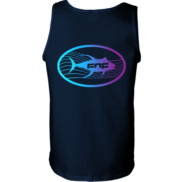 Image of Tuna Emblem Tank Top (navy)