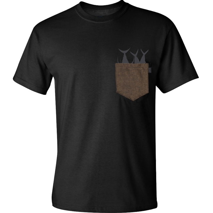 Image of Classic Gunny Pocket Tee (black)