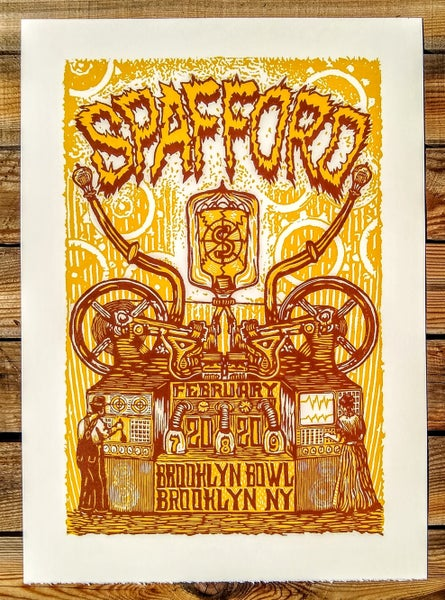 Image of Spafford Brooklyn Print 2/7-9/2020