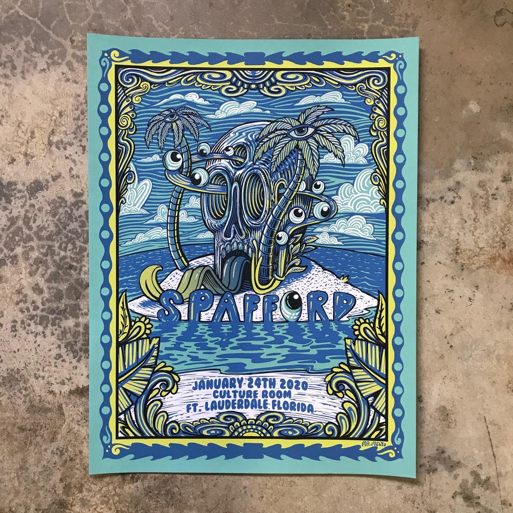 Image of Spafford Ft. Lauderdale Print 1-24-2020