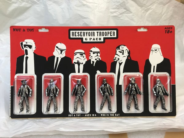 Image of RESERVOIR TROOPERS - SILVER