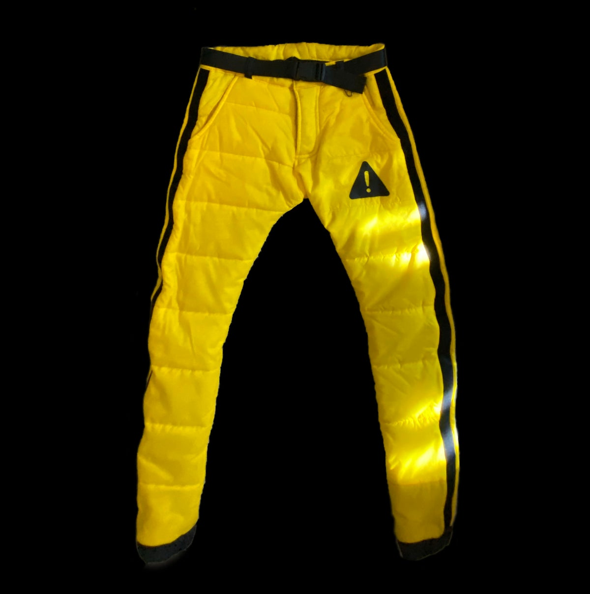 Image of CAUTION PUFFER PANTS