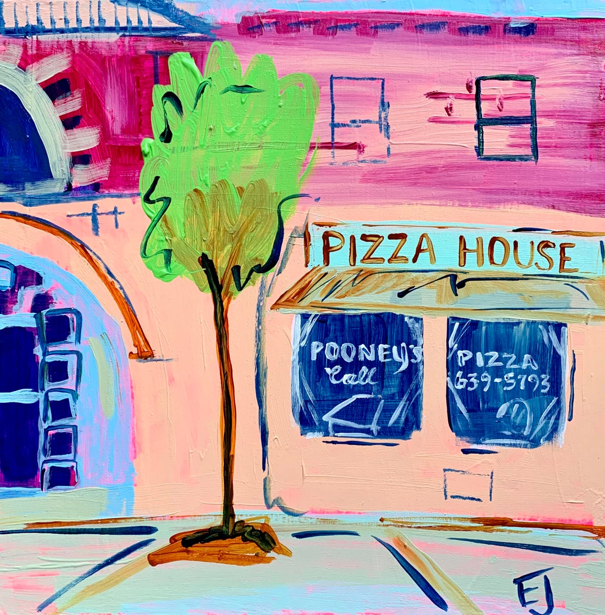 Image of Pizza House Commission III