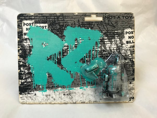 Image of R2tag2 - Turquoise Tag