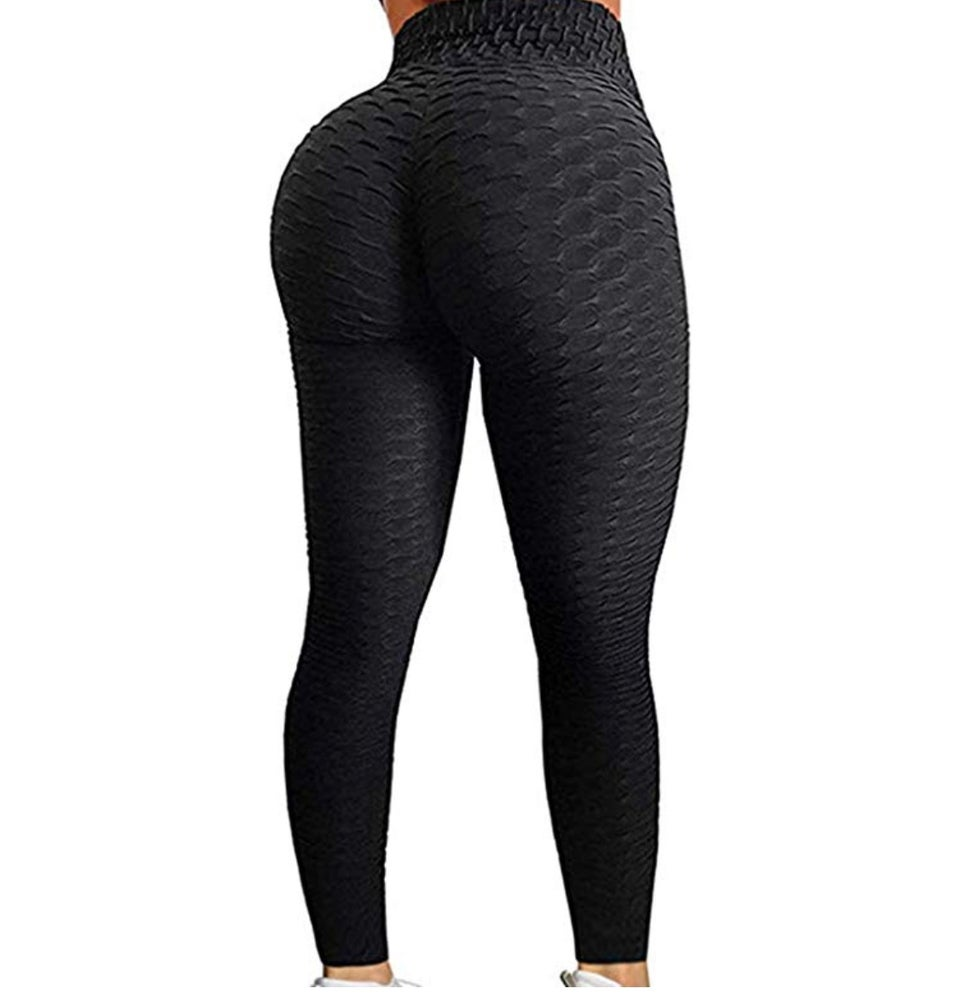Image of AraBella BBL Leggings 🍑  (Onyx, Oreo)