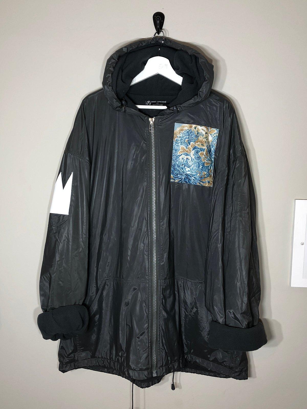 Image of Waterproof Fleece Crane Raincoat