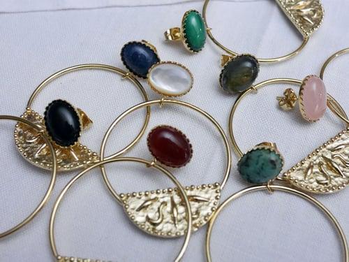Image of Clou Oval Indira 8 coloris