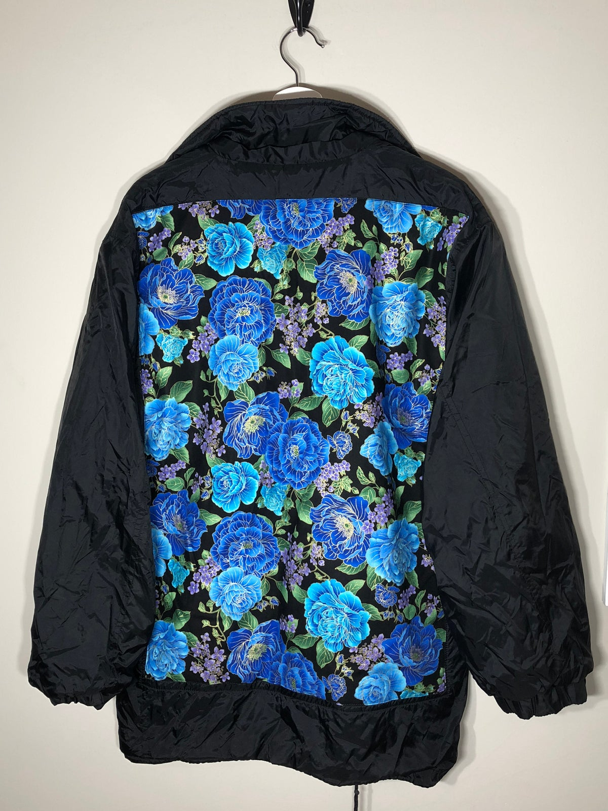 Image of Waterproof/fleece reversable floral coat