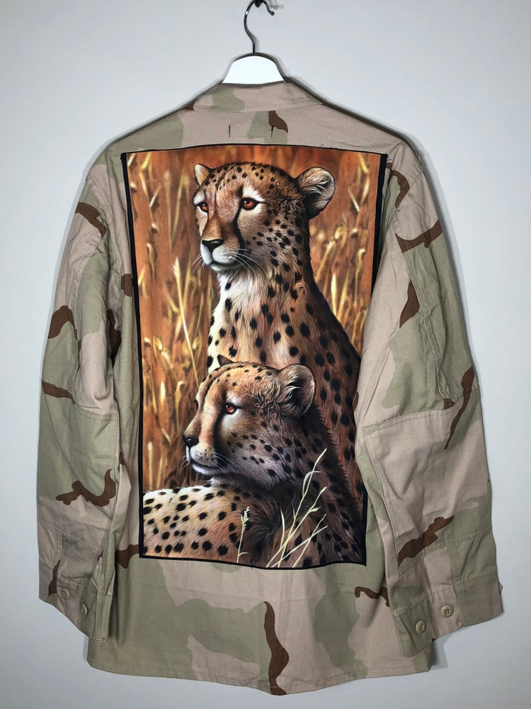 Image of Camo Cheetah Coat