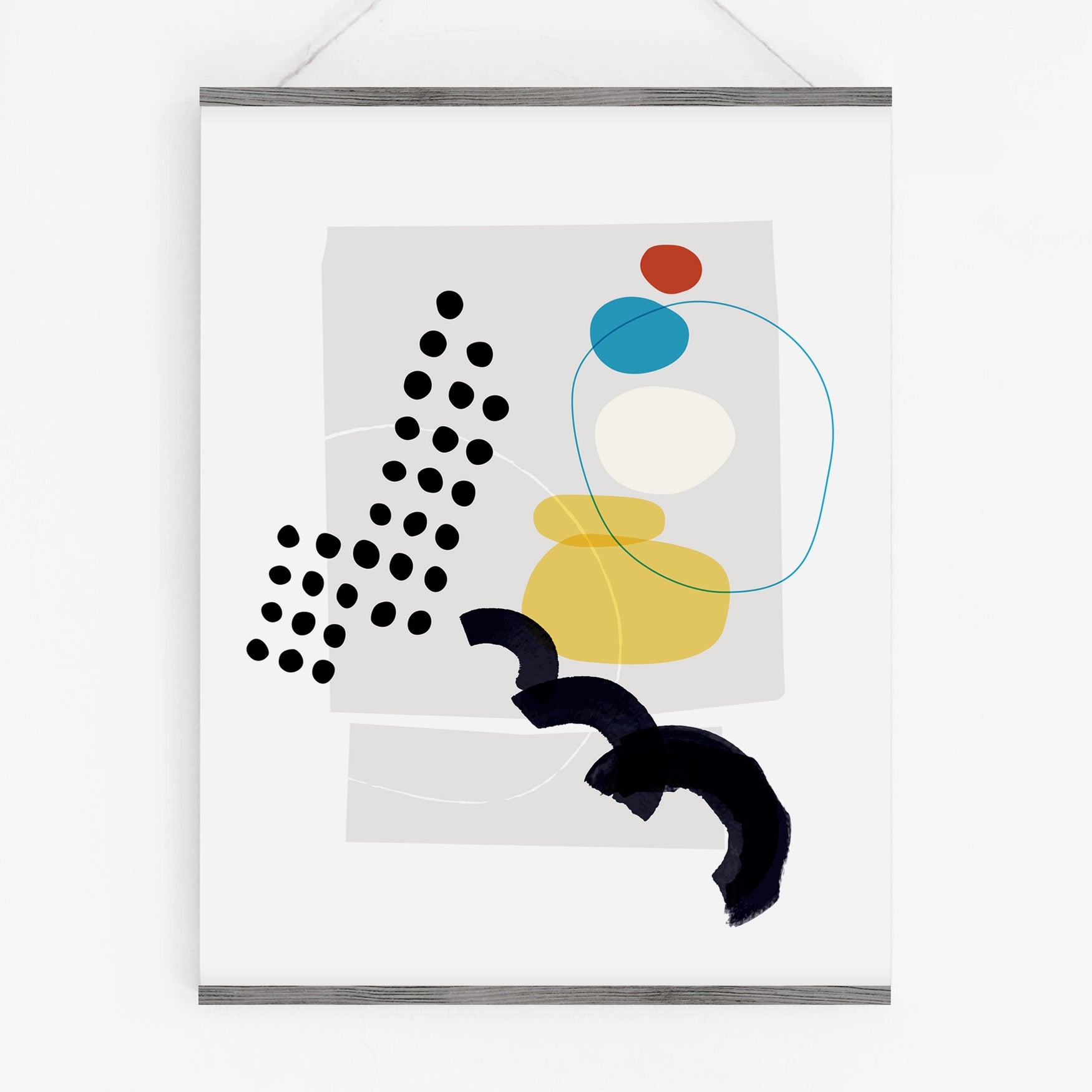 Image of Shape and Hue Series 2 — 3 Print Set
