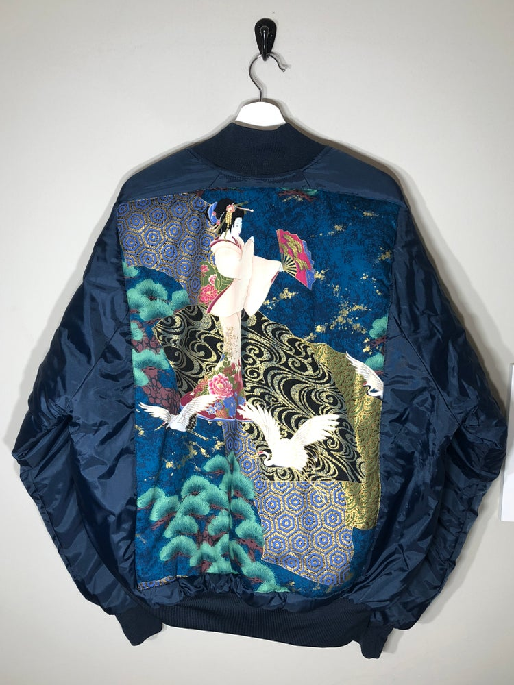 Image of Quilted Geisha Coat