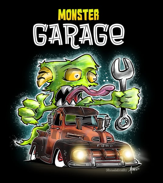 Image of MONSTER GARAGE