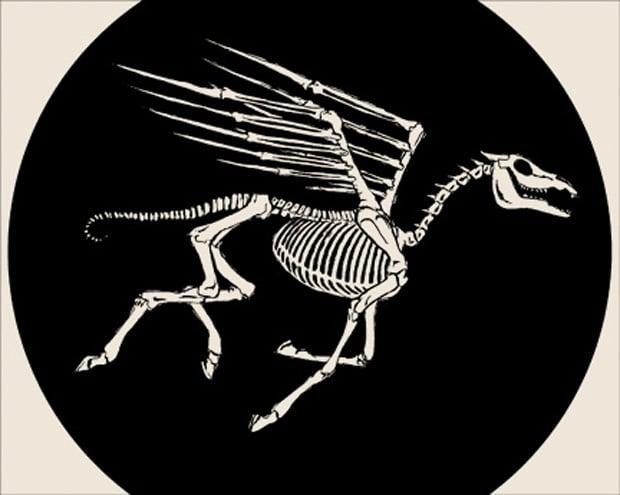 Image of SKULLPHONE - Pegasus (signed print)