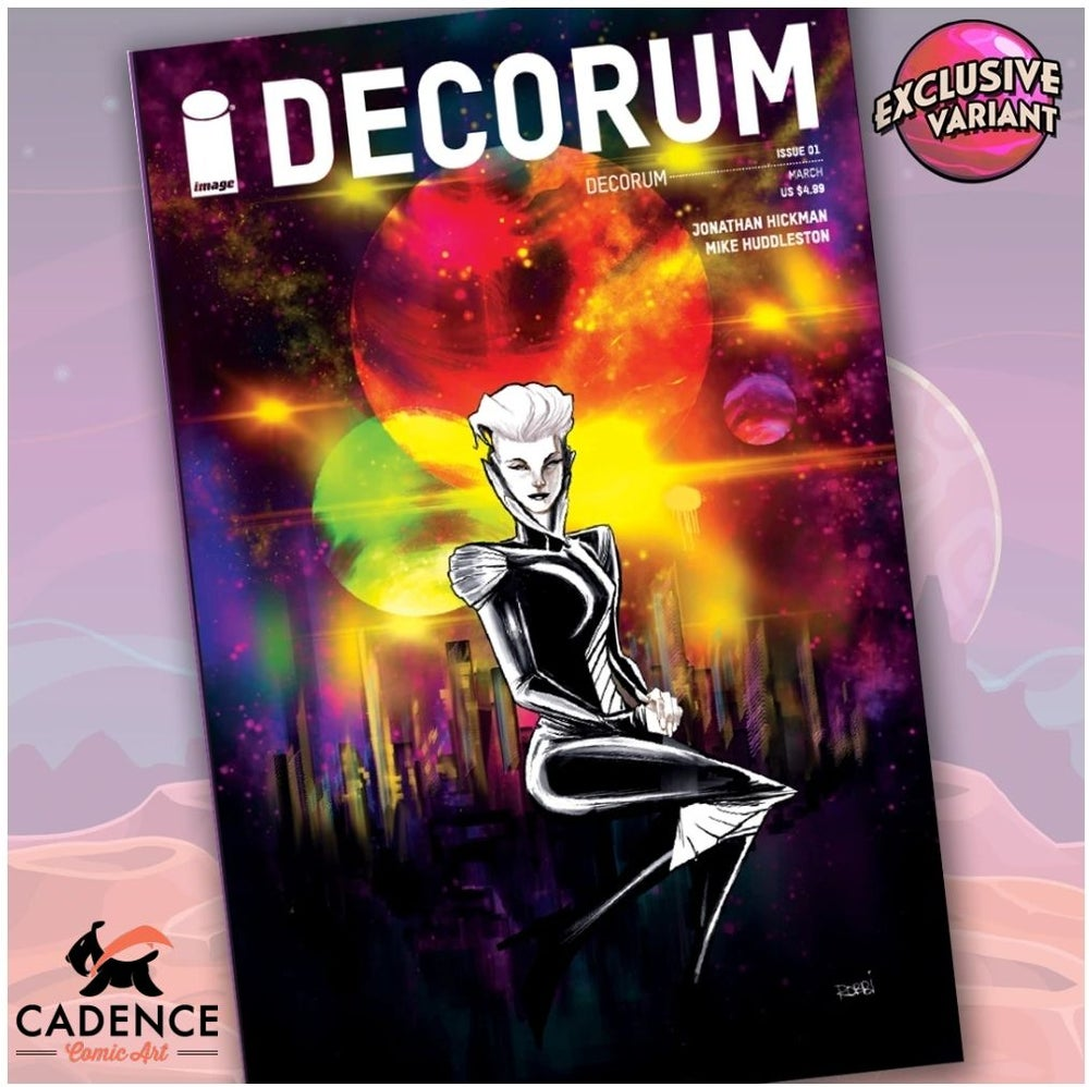Image of Decorum #1 Cadence Comic Art / GalaxyCon Exclusive Variant Cover