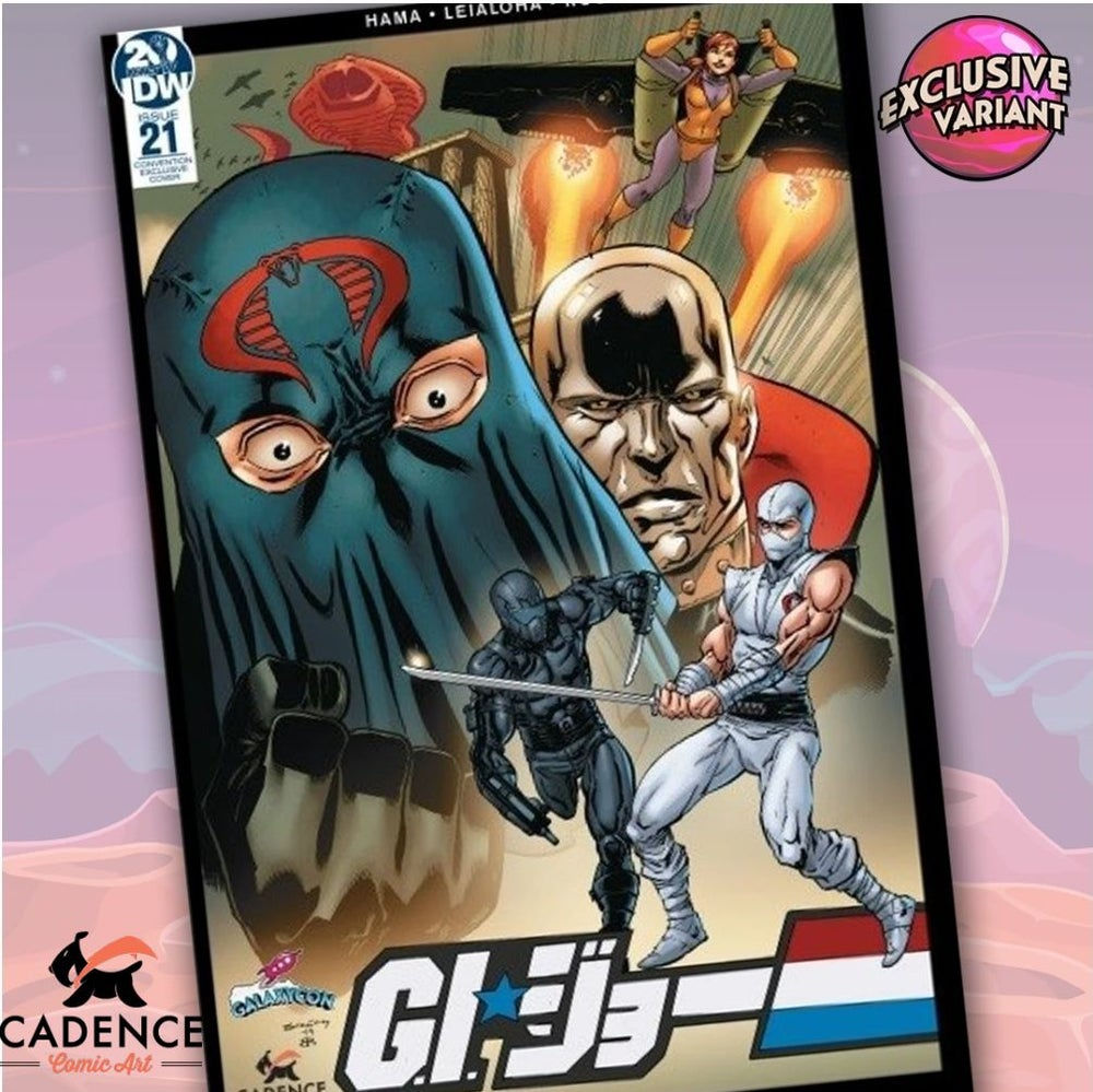 Image of G.I. Joe: A Real American Hero #21 Cadence Comic Art / GalaxyCon Exclusive Variant Cover