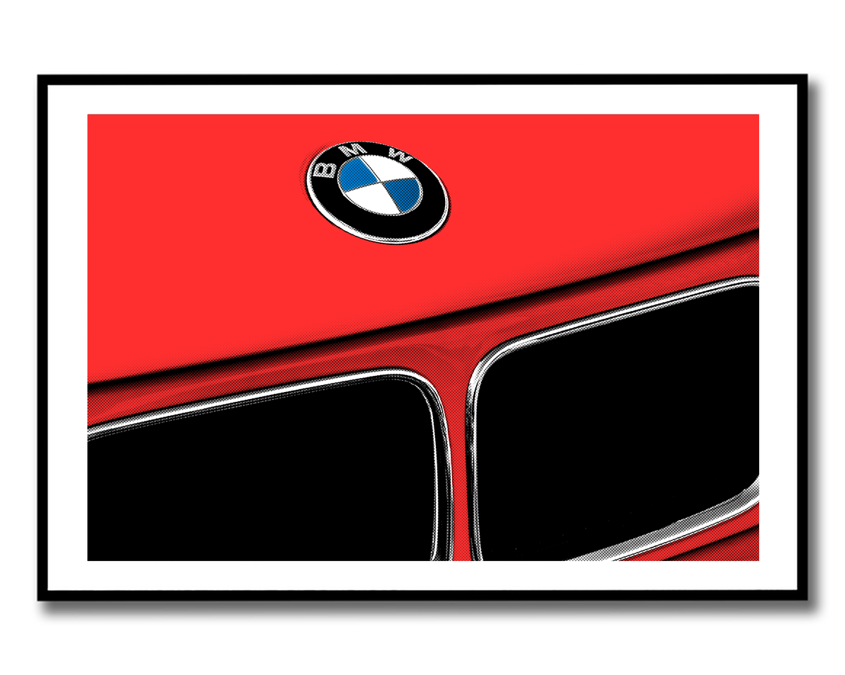 Image of E36 Pop Art Print