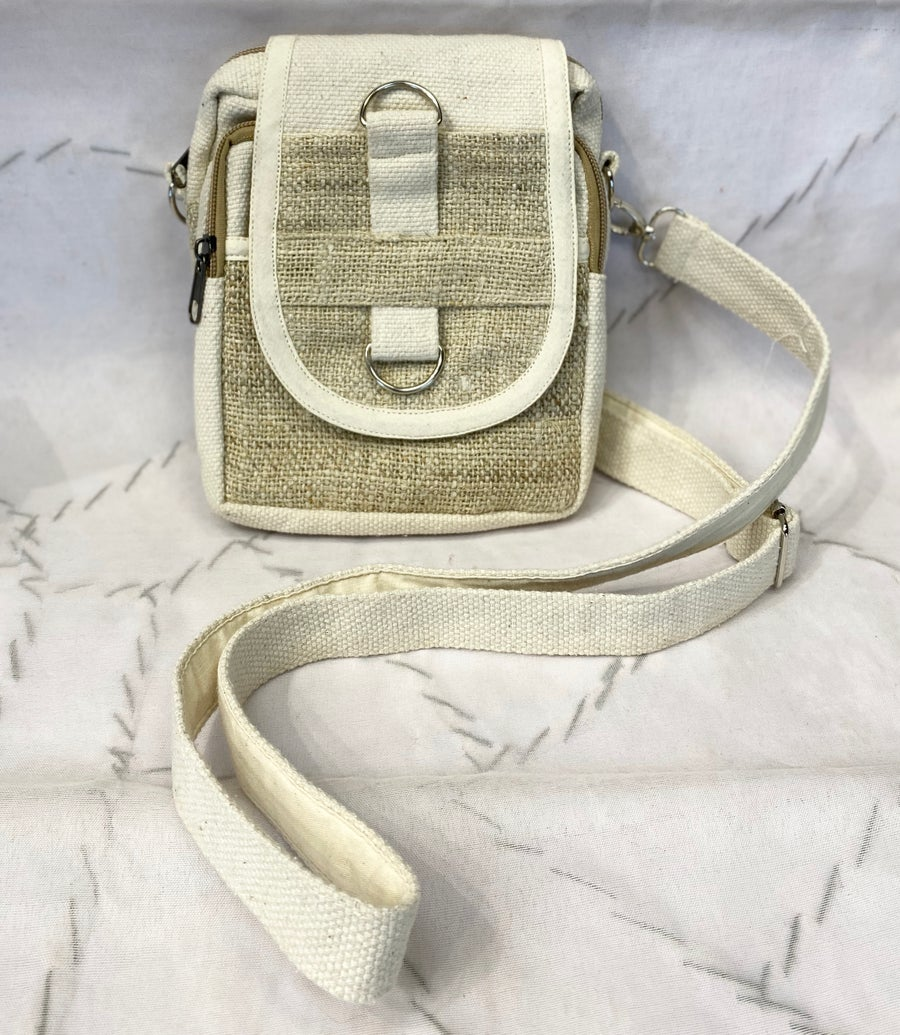 Image of Hemp Cross Body Bag