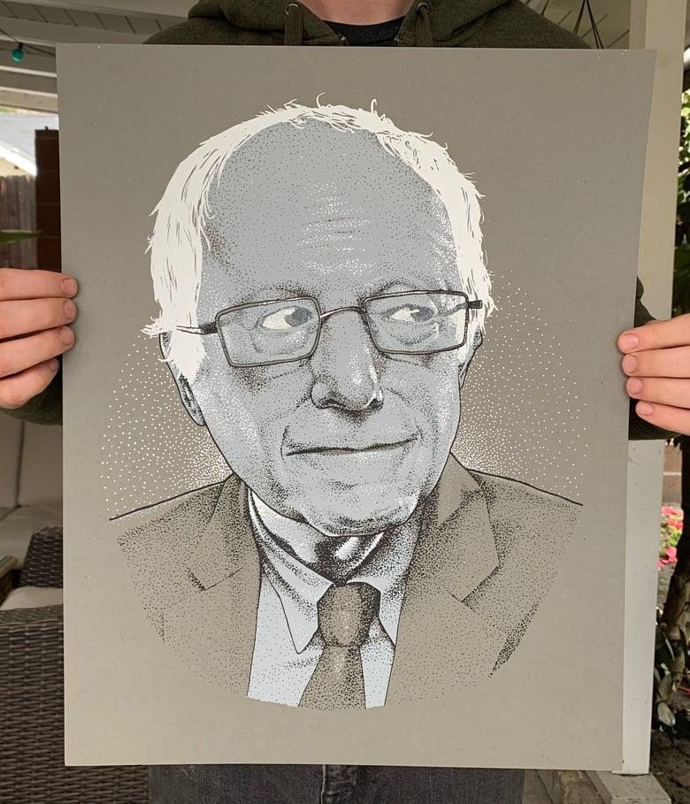 """Image of Bernie Sanders - """"Not me - This"""""""
