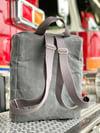 Slate Grey Backpack Burn Bag