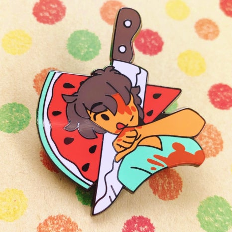 Image of Melon Daniel pin
