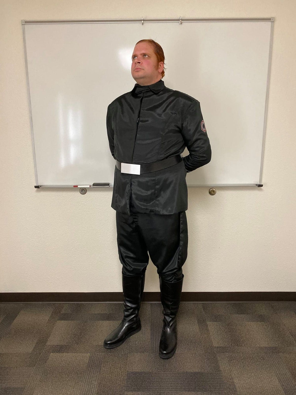 Image of FO OFFICER BLACK BOOTS