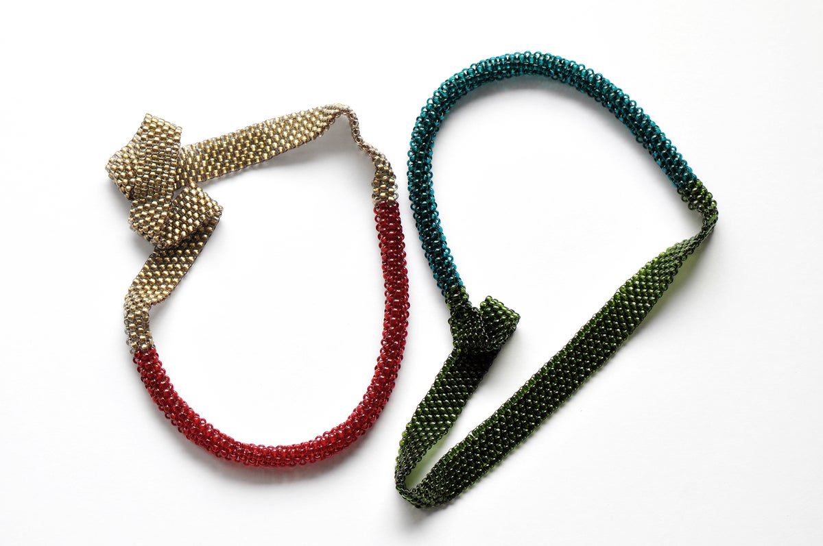 Image of TWO-WAY BASIC short necklace