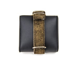 Image of Moss Green Suede Calfskin NATO Strap - unlined