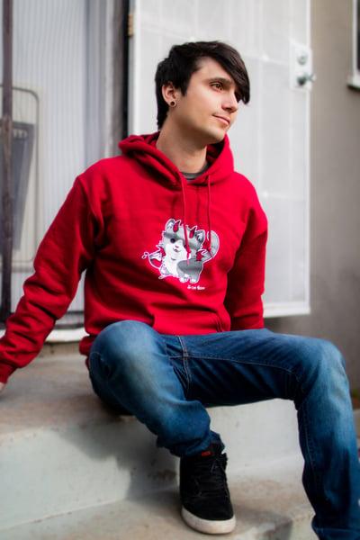 Image of WineKitty Sweatshirt (Red)