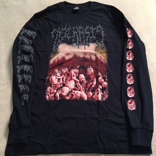 "Image of DYSCRASIA ""Genocide Of The Unborn"" LONGSLEEVE"