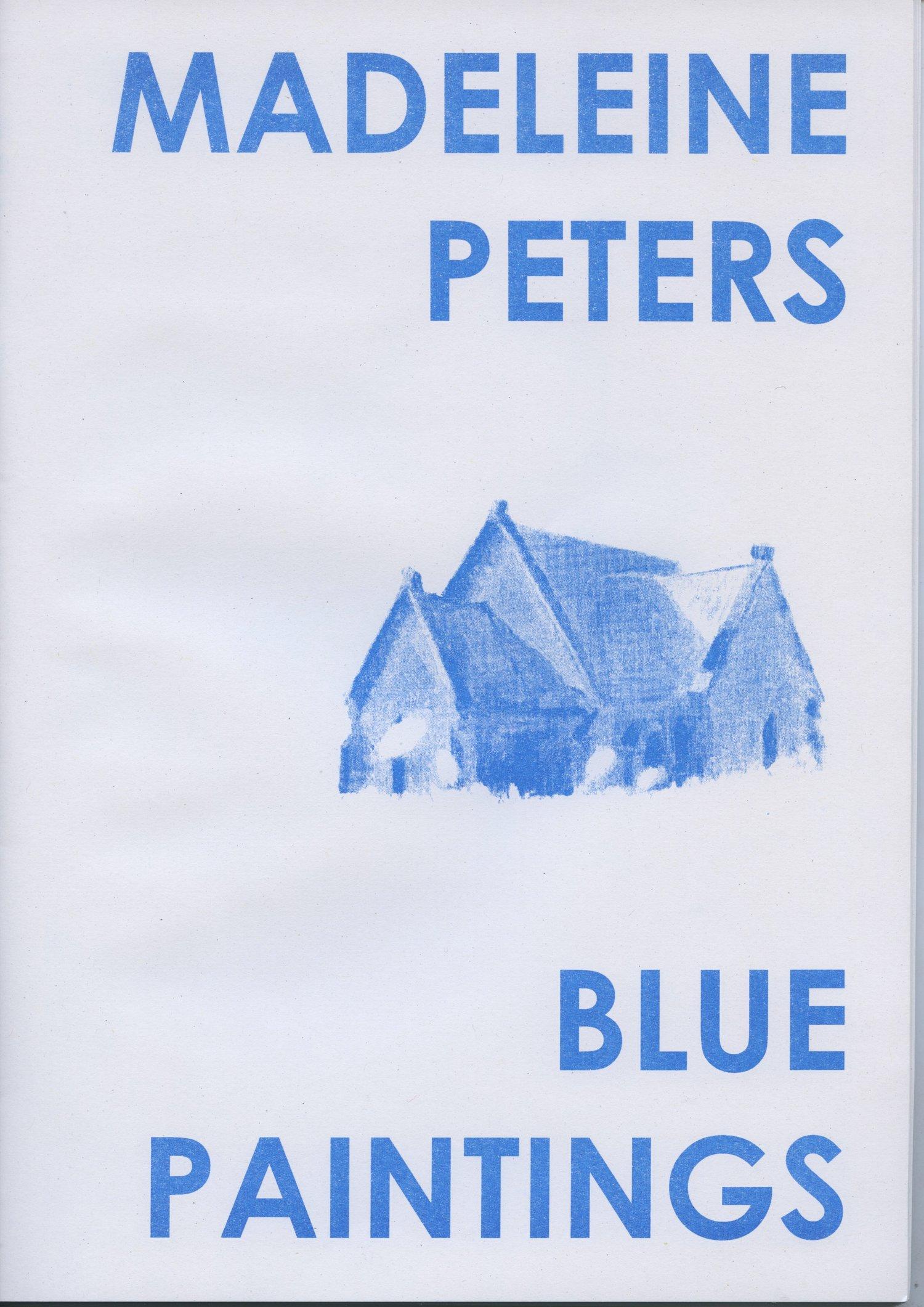 Image of Blue Paintings – Madeleine Peters