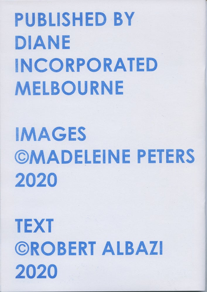 Image of Blue Paintings – Madeleine Peters