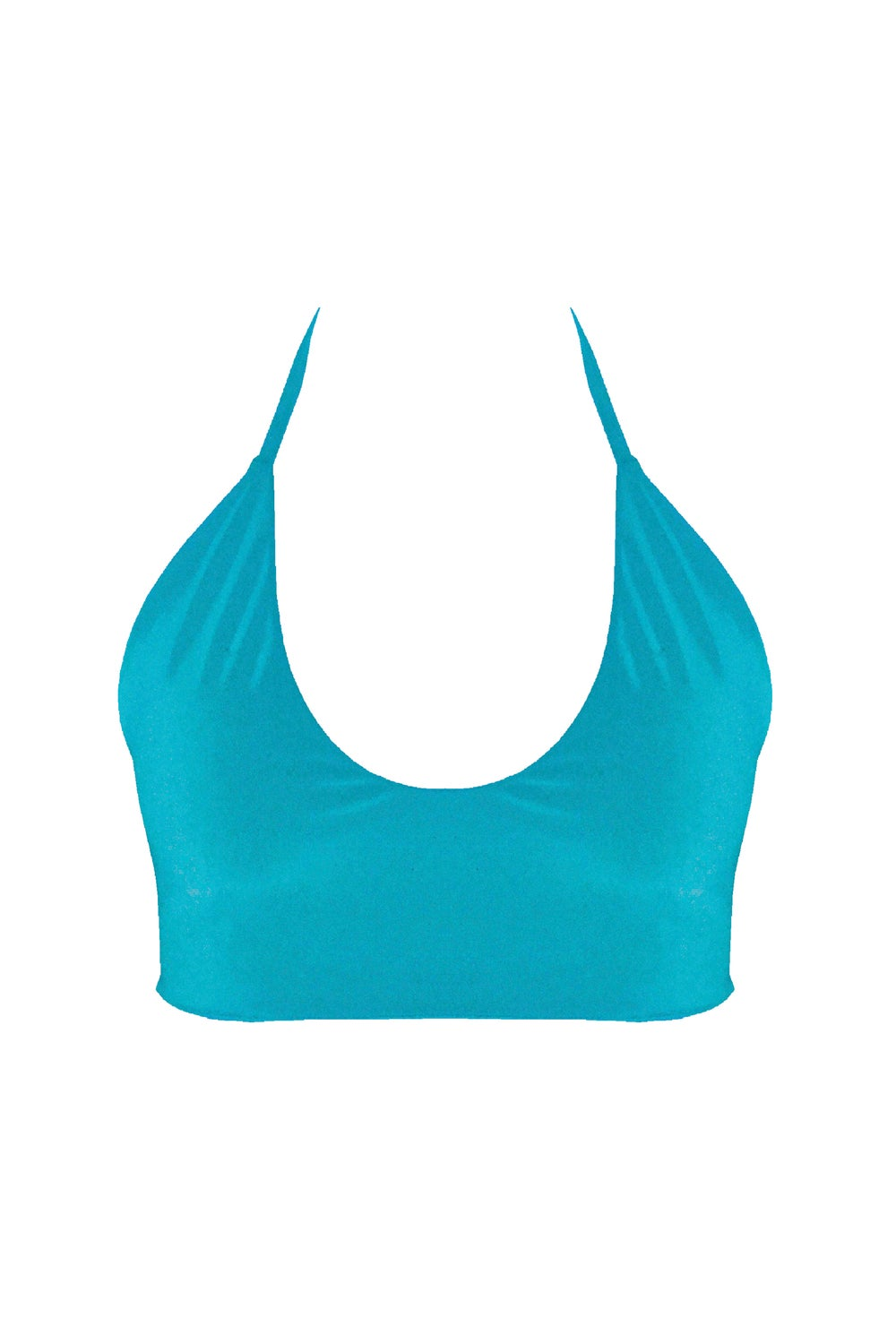Image of Crisscross Top - Turquoise