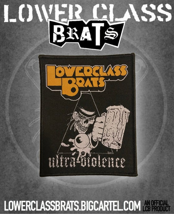 "Image of ""ULTRA-VIOLENCE"" woven patch"
