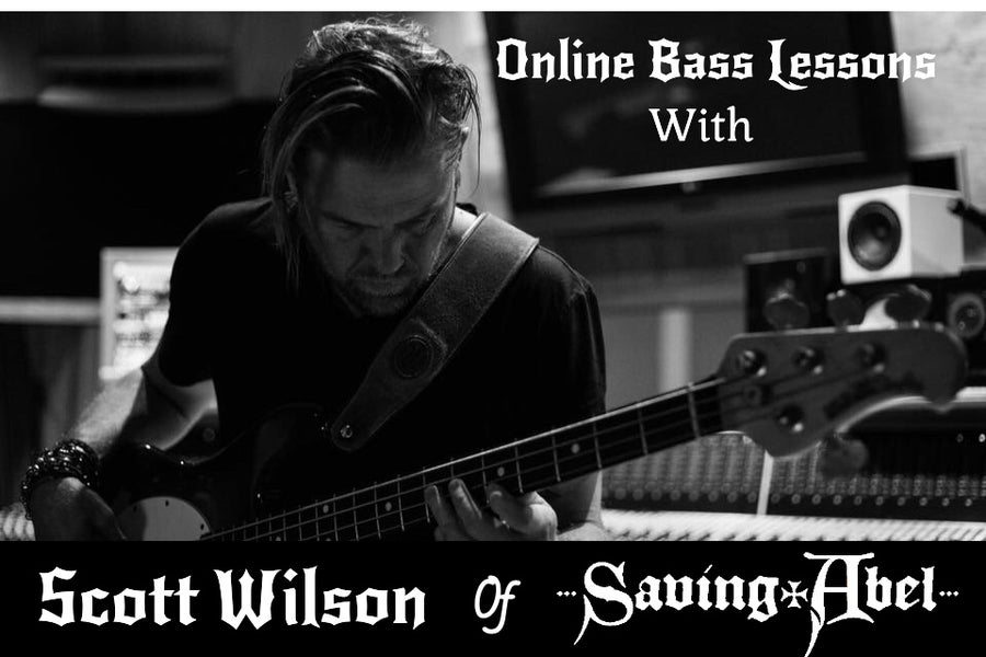 Image of Online private Bass Lessons with Scott Wilson
