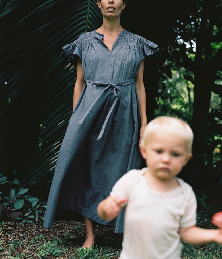 Image of Hand Smocked Flutter Dress
