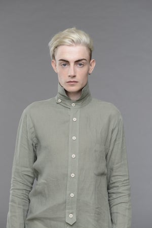 Image of English Painter Shirt Olive £228.00