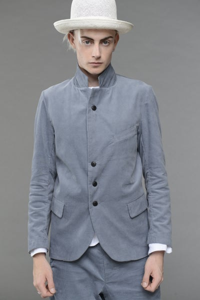 Image of California Summer Corduroy Jacket LIGHT BLUE £298.00